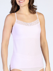 Women's Give-N-Go® Lacy™ Shelf Bra Cami