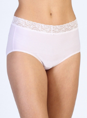 Women's Give-N-Go® Lacy™ Full Cut Brief