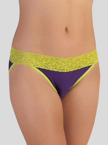Women's Give-N-Go® Lacy™ Low Rise Bikini