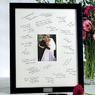 Guest Book Frame for the Reception