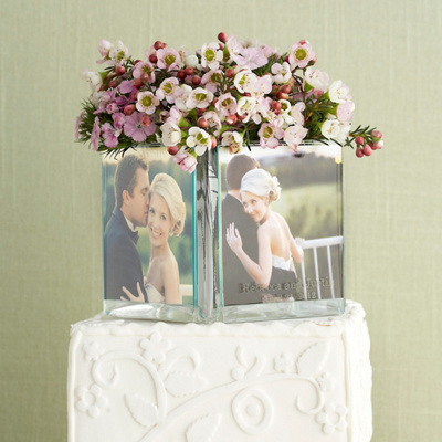 Photo Cube Cake Topper Centerpiece You May Also Like You May Also Like