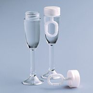 Champagne Glass Wedding Bubbles