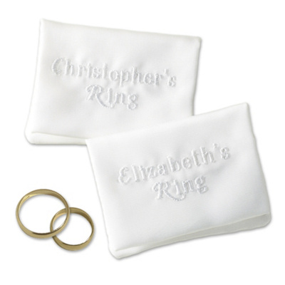 Personalized Wedding Ring Pillow 3495