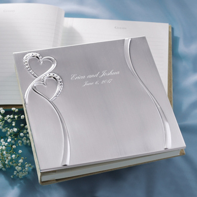 Twin Hearts Wedding Guest Book You May Also Like You May Also Like