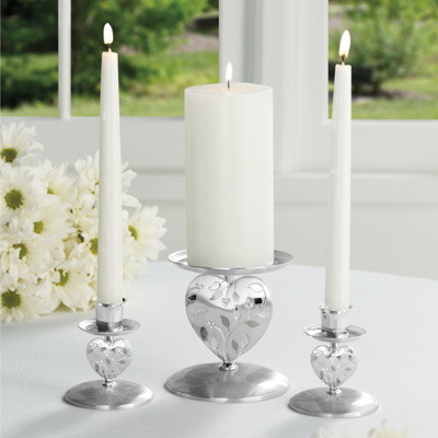 Nature 39s Love Wedding Unity Candle Holder Set You May Also Like