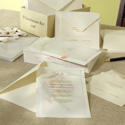 Free  Wedding Invitations on Natural Beauty Invitation Kit  Do It Yourself Wedding Invitations