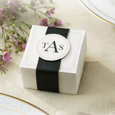 Wedding Favor Kits on Elegant Ivory Wedding Favor Box Kits   Wedding Favors