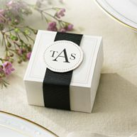 Elegant Ivory Favor Box Kit