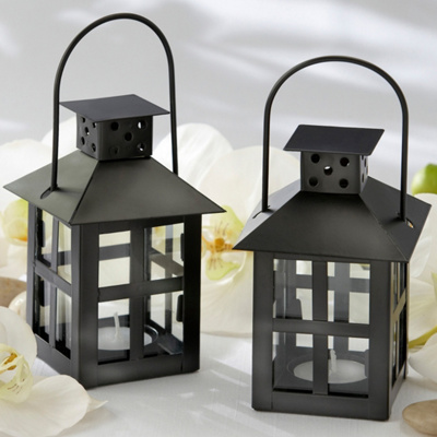 Luminous Black Tea Light Lantern Wedding Centerpiece You May Also Like