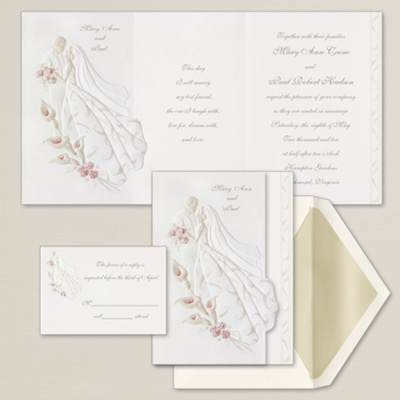 Modern Wedding Songs  Dance on First Dance Wedding Invitation   Embossed Wedding Invitations