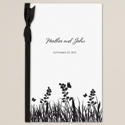 Butterfly Kisses Wedding Program Cover You May Also Like You May Also Like