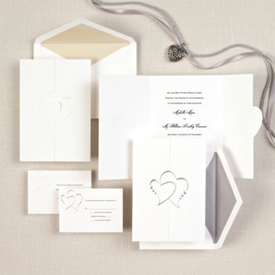 Diamond Romance Wedding Invitation