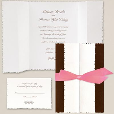 Tuxedo Wedding Invitation