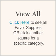 View All (Wedding Favor Supplies)