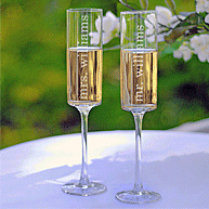 New Toasting Flutes