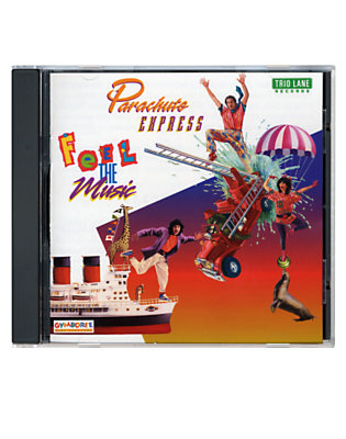 Girls Multi Parachute Express Feel the Music CD by Gymboree