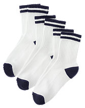Navy 3-Pack Sport Sock