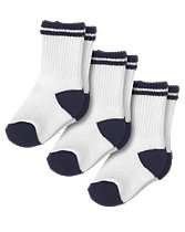 Stripe Sport Sock Three-Pack