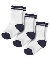 Stripe Sport Sock Three-Pack