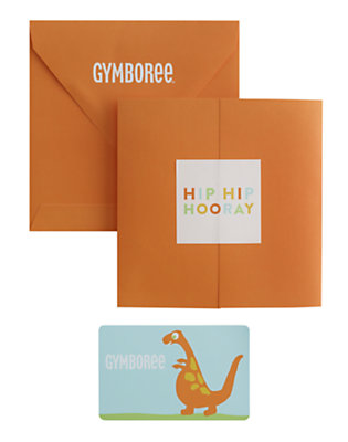 Dinosaur Gift Card by Gymboree