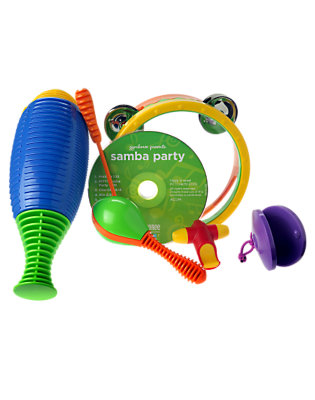 Toddler Boys Multi Samba Set with CD by Gymboree