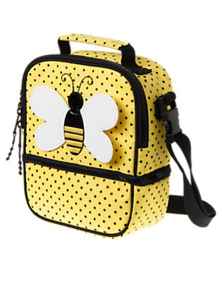 Lemonade Polka Dot Bee Lunchbox by Gymboree