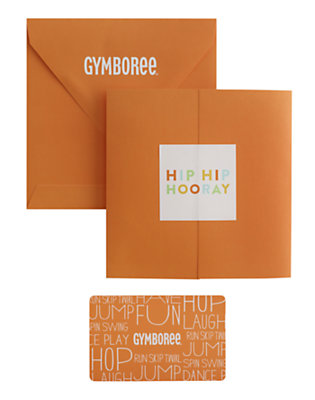 Hip Hip Hooray Gift Card by Gymboree