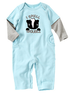Skunk Double Sleeve One-Piece