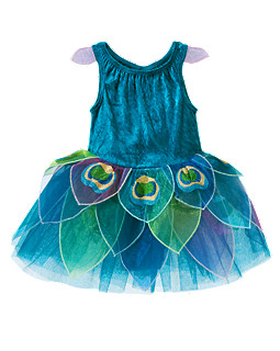 Pretty Lil' Peacock Costume