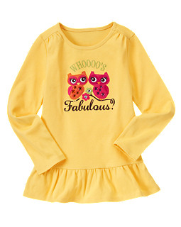 Whoooo's Fabulous Top