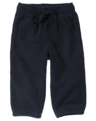 Gym Navy Microfleece Active Pant by Gymboree