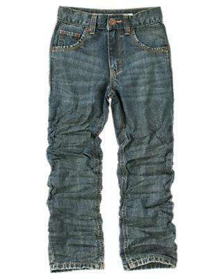 Boys Denim Straight Jean by Gymboree