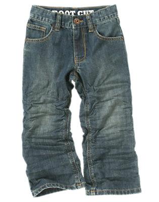 Boys Denim Bootcut Jean by Gymboree