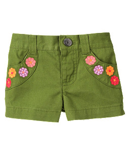 Flower Pocket Short
