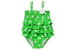 Daisy Tiered One-Piece Swimsuit