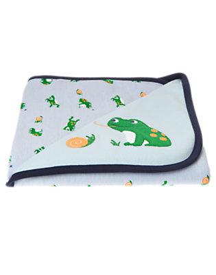 Frog Pond Blue Frog Blanket by Gymboree