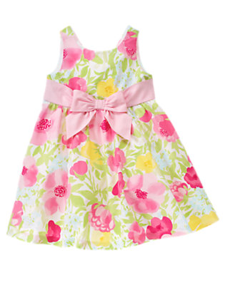 Fairy Pink Blossom Flower Bow Dress by Gymboree