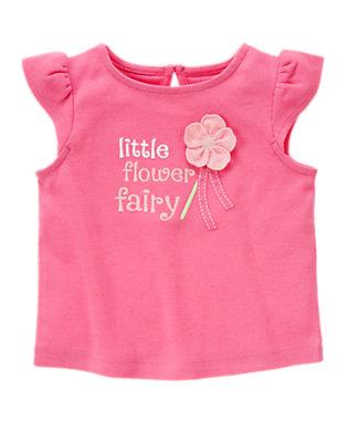 Petal Pink Little Flower Fairy Top by Gymboree