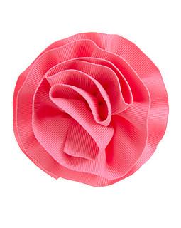 Ribbon Rosette Hair Clip