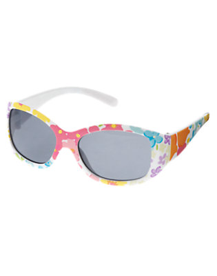 Tulip Pink Blossom Floral Sunglasses by Gymboree