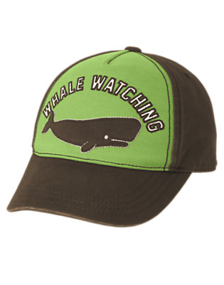 Boys Anchor Brown Whale Watching Hat by Gymboree