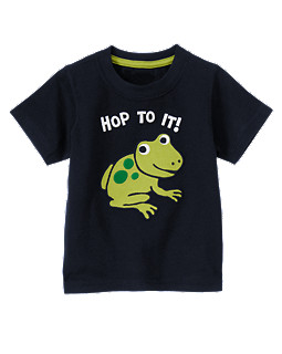 Hop To It Frog Tee