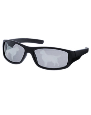 Dark Navy Dog Sunglasses by Gymboree