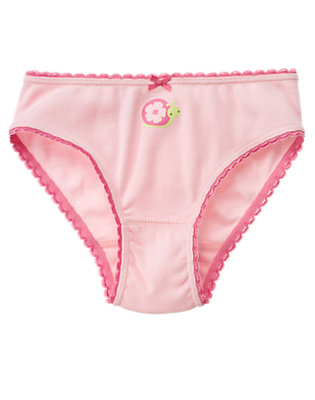 Fairy Pink Snail Panty by Gymboree
