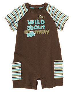 Wild About Mommy Shortie One-Piece