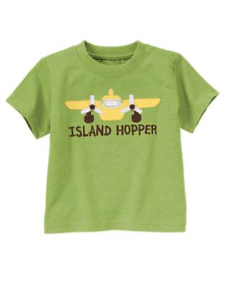 Palm Green Island Hopper Tee by Gymboree