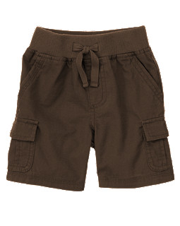 Pull-On Ripstop Cargo Short