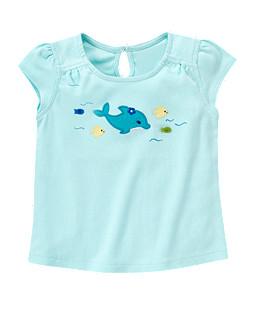 Dolphin Fish Tee