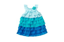 Colorblock Ruffle Sundress