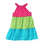 Polka Dot Tiered Sundress